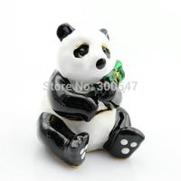 Wholesales Factory Sell Cheaper Handmade Panda Gift Box China--Alloy Panda Trinket box for sale