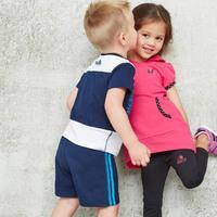 Children Boy And Girls Clothing Set Cotton Stripe Sport Suit Kids Summer 2pcs Suit Children Clothes Set conjunto de roupa