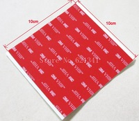 10sheets/lot 3M VHB 5608A 100mmx100mm Acrylic Foam Double Sided Attachment Extremely Strong Adhesive Tape