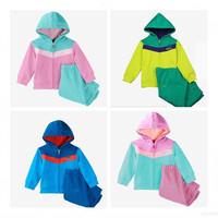Baby Boy Girls Brand Autumn Clothing Sport Sets Children Hoodies Jacket+Pants Kids Clothes Set conjuntos meninas vestir