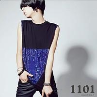 2014 men sleeveles vest men's slim personalized fashion vest top
