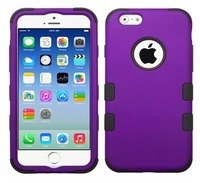 5PCS  For iphone6 4.7 inch new listing protection shell of silica gel and PC three sets of housing