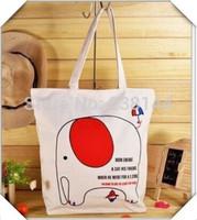 New 2014 Cartoon Cat Canvas Women Casual Shoulder Bags Totes Street Style Large Capacity Shopping Bag Handbag 52204