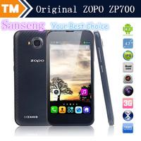 "Cheapest ZOPO ZP700 MTK6582 Quad Core1.3GHz Mobile Phone 4.7"" 960*540 QHD 1G RAM 4G ROM Android 4.2 GPS WCDMA OTG Phone VS ZP810"