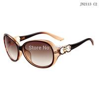 New 2113 Luxury Lady Cycling Sun Glasses For Women Vintage Eye Glass Oculos De Sol Mirror Brand Designer Cazal cc Sunglasses