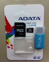Hot sale Micro SD card 32GB 64GB Memory card 4GB 8GB 16GB TF cards Pen drive Flash + Adapter Phone tablet RAM card (Class 10)