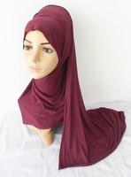 (free shipping)NEW arrival cotton jerney  muslim shawl ,muslim scarf,muslim hijab.170*55cmm, can choose colors