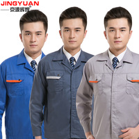 Summer, fall and winter clothes suit short-sleeved work clothes work clothes factory tooling uniforms protective clothing