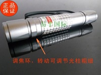 Wholesale - 532nm- 50000mw 50w 532nm high power green laser pointers can focus burn match/pop balloon+battery+charger