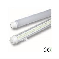 LED Tube 600mm T8 9W Light Lamp 900lm Pure White 6000-6500k 85-265V Aluminum+PC Free Fedex+25pcs/lot
