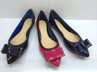 Suede Designer Shoes Office Lady Elegant Women Boat Shoes Genuine Leather Bowtie Vintage Winklepickers Free Ship