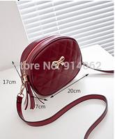 Free shipping fashion women handbags tassel PU material 20*17*7  cm