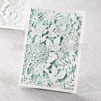 Magical Garden Laser Cutting Wedding Invitations----