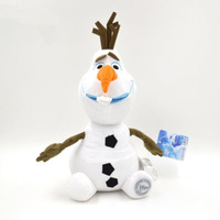 HOT New Frozen Olaf Snowman Doll Plush Soft Stuffed Kids Gift Toy