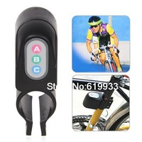 JX 610 110dB Plastic Black Bicycle Alarm Security Anti Steal Lock