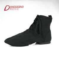 Brand Dance Legend Adult Unisex Men/Women Indoor Soft-soled Dance Shoes High-top Canvas Practicing Ballet Athletic Pointe Shoes