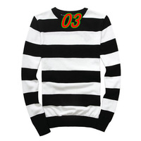 New 2014 Winter Brand Men's Pullovers Sweaters Blusas Masculinas Fashion Leisure Sport Men O-Neck Stripe Pullovers Sweater Coat