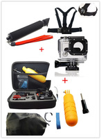 Combine sell:HERO3 Waterproof Case+Gopro Collecting Box +Gopro chest band and head band +Gopro Monopole+Floaty bobber+Gopro bag
