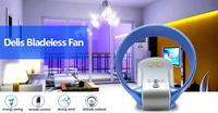 360-degree rotating bladeless ceiling fan