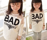 Top On Top wholesale 2014 Autumn Korean version influx mesh stitching white cotton long-sleeved t-shirt