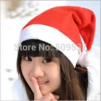 Free Shipping Santa Claus hat 10pcs/lot High Quality Christmas Gifts Decoration Christmas Wedding Christmas hat