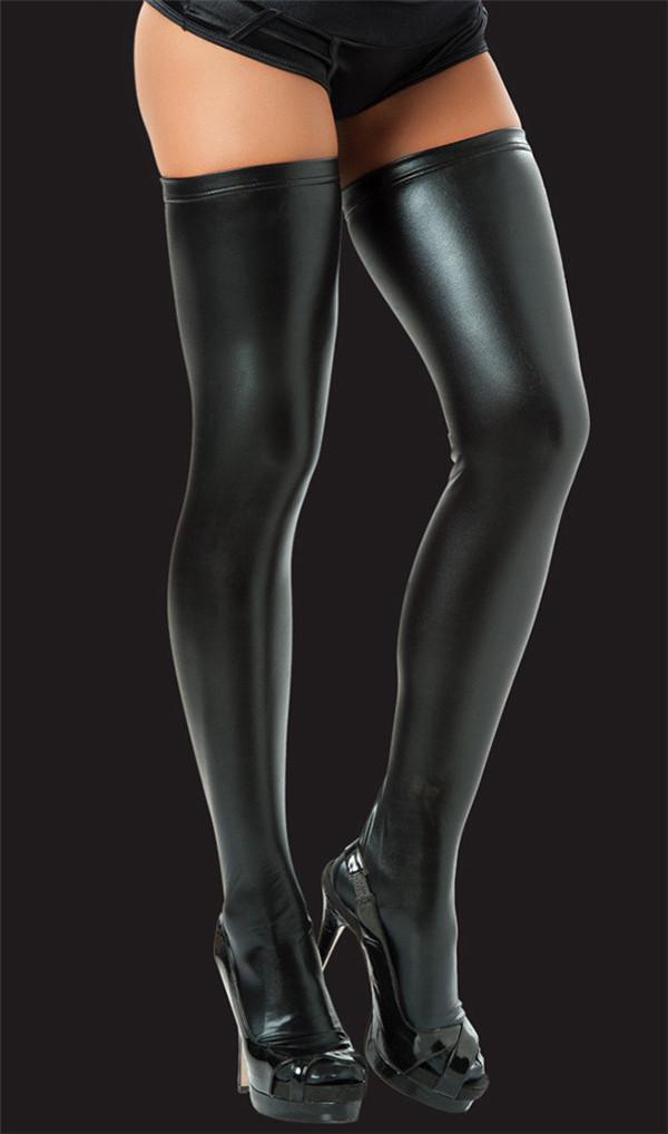 Женские чулки Leather Stockings Meias 90 PVC Stockings женские чулки unbrand stockings