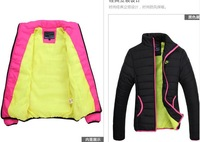 hot !! women coat Outerwear Female windproof stand-up collar winter down jackets four colors free shipping