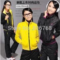Hot! Women jacket pants set autumn winter double-sided wear jackets sports suits Winter suits 3 color