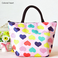 5 Patterns for Choice! Fashion Lunch Bag Insulated Ice Cooler Bags Thick Mummy baby Thermal Food Container Q0020, Free Shipping
