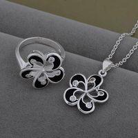 3 colors! designer jewerly women 2014 wedding necklace set  luxury set China wholesale price free shipping AT545