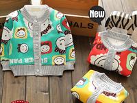 Children's underwear  cashmere Sweater coat  boys and girls Multicolor