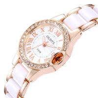 2014 new Free shipping Classic women dress watches women rhinestone watches diamond bracelet gemstone stainless steel watches