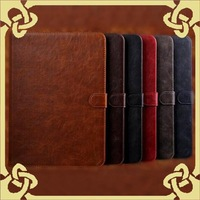 Retro Business Tablet PC Cases Colorful Tablet Accessories Fit for Galaxy Tab4 T530 Leather Material Elegant Outlook 097