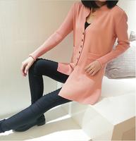 Women's Sweater  New 2014 Designer Women Casual  Slim Wool Cardigan Outerwear