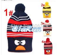 Retail Baby Bird Design Crochet Hat Children Hat Winter Warm Long Cap Boys Girls Caps Knitted Beanie Hat Free Shipping