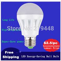 LED Energy Saving Ball Bulb 3W 5W 7W 9W 12W E27 LED Lamp screw mouth Indoor Energy Saving Light