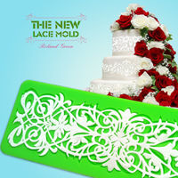 New large Instant lace mold cake decorating tool, DIY fondant mold