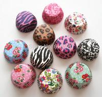 Wholesale 500pcs Mini Size Cupcake Liners Baking Mould Muffin Cake Pans Base 33mm Free Shipping