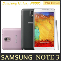 Original Samsung Galaxy Note 3 N9005 Unlocked Mobile Phone Quad Core 3GB RAM 5.7 Inches 13MP WIFI GPS Refurbished Andriod Phone
