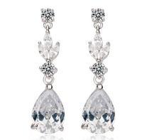 new item korean style romantic earring for women party item long earring AAA zircon earring drop earring for women A222