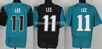 2014 New American Football Jerseys Jacksonville #11 Marqise Lee Jersey Black Green Color Wholesale Stitched Logos Free Shipping