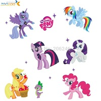 my little pony 3d cartoon wall stickers for kids rooms zooyoo1425 home decoration diy wall decal for girls room wall decoration
