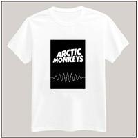 Arctic Monkeys Print Tshirt For Women Men Short Sleeve Cotton Lady Casual White Shirt Top Tee S-XXXL Big Size ZY502-45