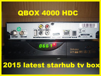 2014 Starhub Singapore Support Nagra 3 HD cable TV Receiver Black Box HD-C608 Plus can watch BPL/EPL WIFI Support by Free