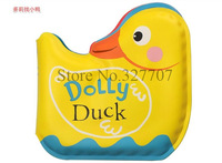 Waterproof Baby Bath Book Duch Shaped Bathtime Toys Colorful Cute Dolly Duck Kid Toy Baby Palm Book