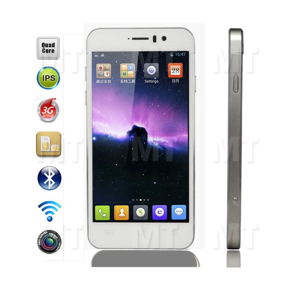 "JIAYU G5 MT6589T Quad-Core Android 4.2 WCDMA Phone with 4.5"" IPS Gorilla Glass, 4GB ROM, 1GB RAM, Wi-Fi, TF, Bluetooth - White(China (Mainland))"