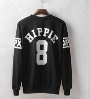 Fashion Autumn HIPPIE 8 Print sweatshirt PUNK pullover thrasher hip-hop clothing men long-sleeved sweater Tide brand Men outwear