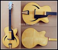 16 Inch Log color handmade Jazz guitar