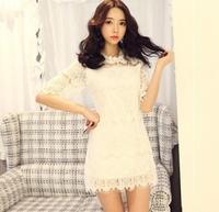 Women's Dress New 2014 Summer Designer Women Casual Lace Dress