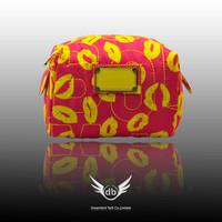 Nylon brand makeup bag MJ cluth mj women's nylon cosmetic bag single zipper fashion handbag 10 colors free shipping